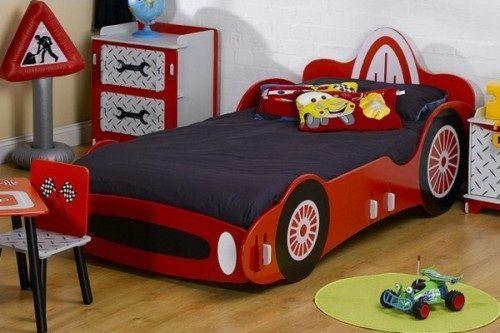 Dormitorios con camas coche para ni os jemp cama coche ni o recamara y ni os - Cama coche para ninos ...