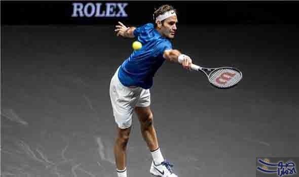 السويسري فيدرير يفوز على الأميركي سام كويري في ثاني أيام بطولة كأس ليفر فاز السويسري روجر فيدرير المصنف الثاني عالمي ا بين لاعبي Tennis Racket Sports Running