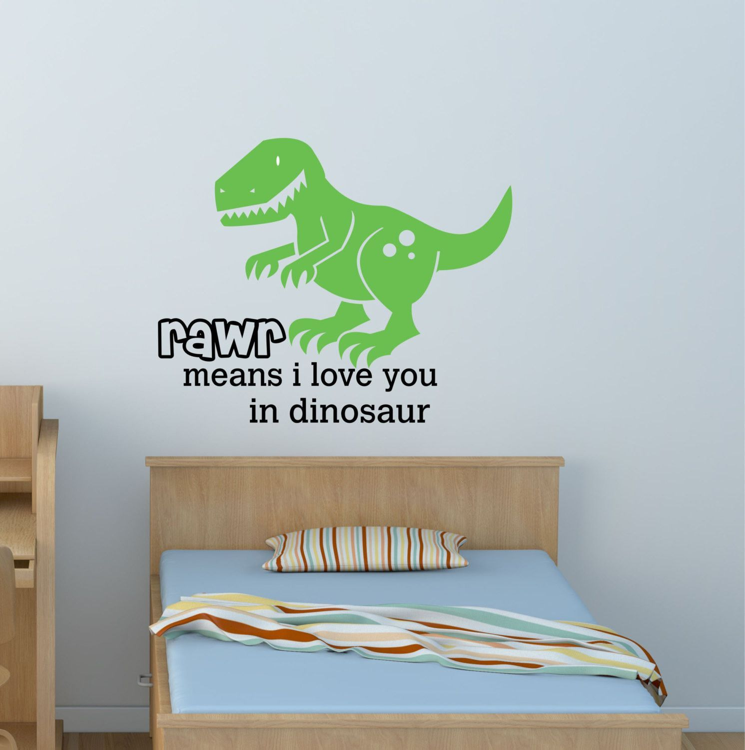 Children Wall Decals  By Decor Designs Decals, Dino Quote Dinosaurs Wall  Decal Wall Sticker
