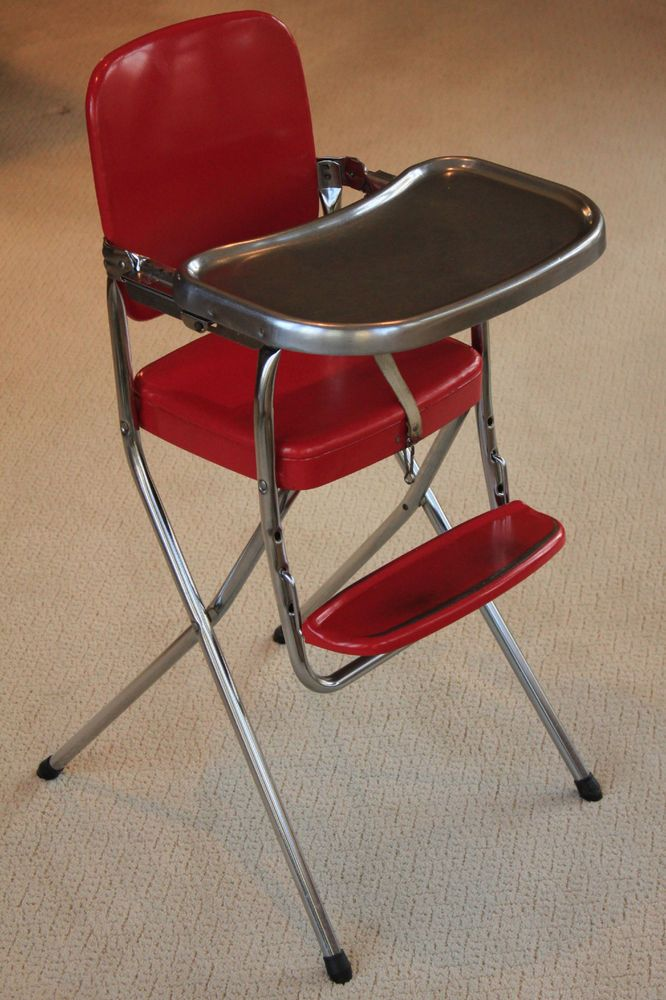 Vintage 1957 Cosco Folding High Chair Nice Folding High Chair