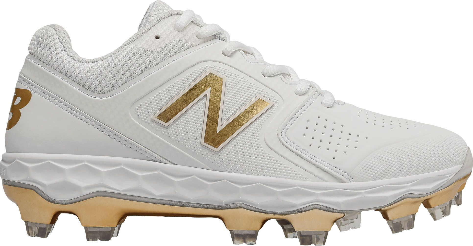 New Balance Women S Fresh Foam Velo 1 Softball Cleats Products Softball Cleats Softball New Balance