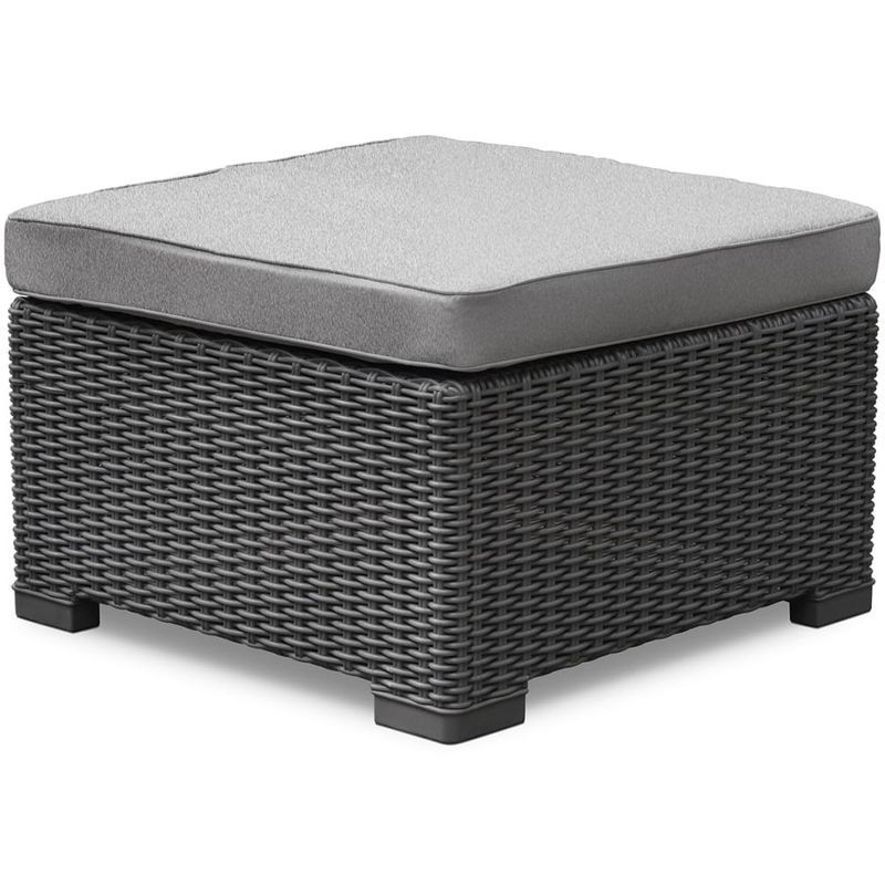 Allibert Pouf D Exterieur California Graphite 233446 Canape