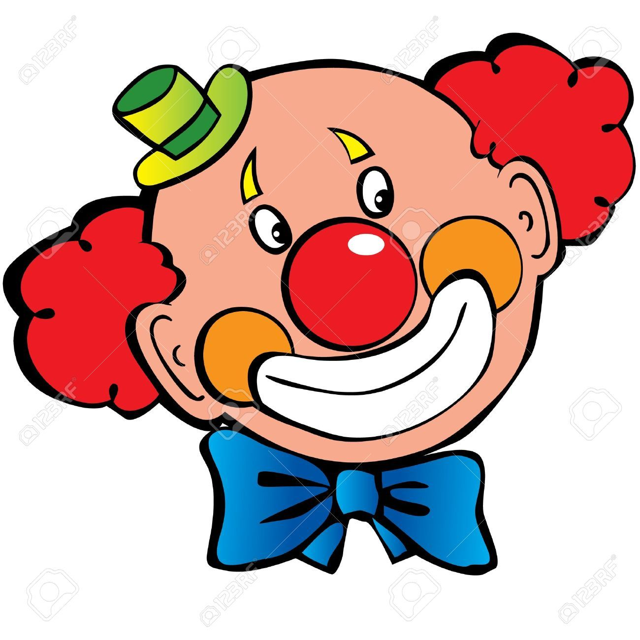 image of clown face clipart 9 free clown clipart 1 page of rh pinterest com clip art crowns and tiaras clip art clown fish