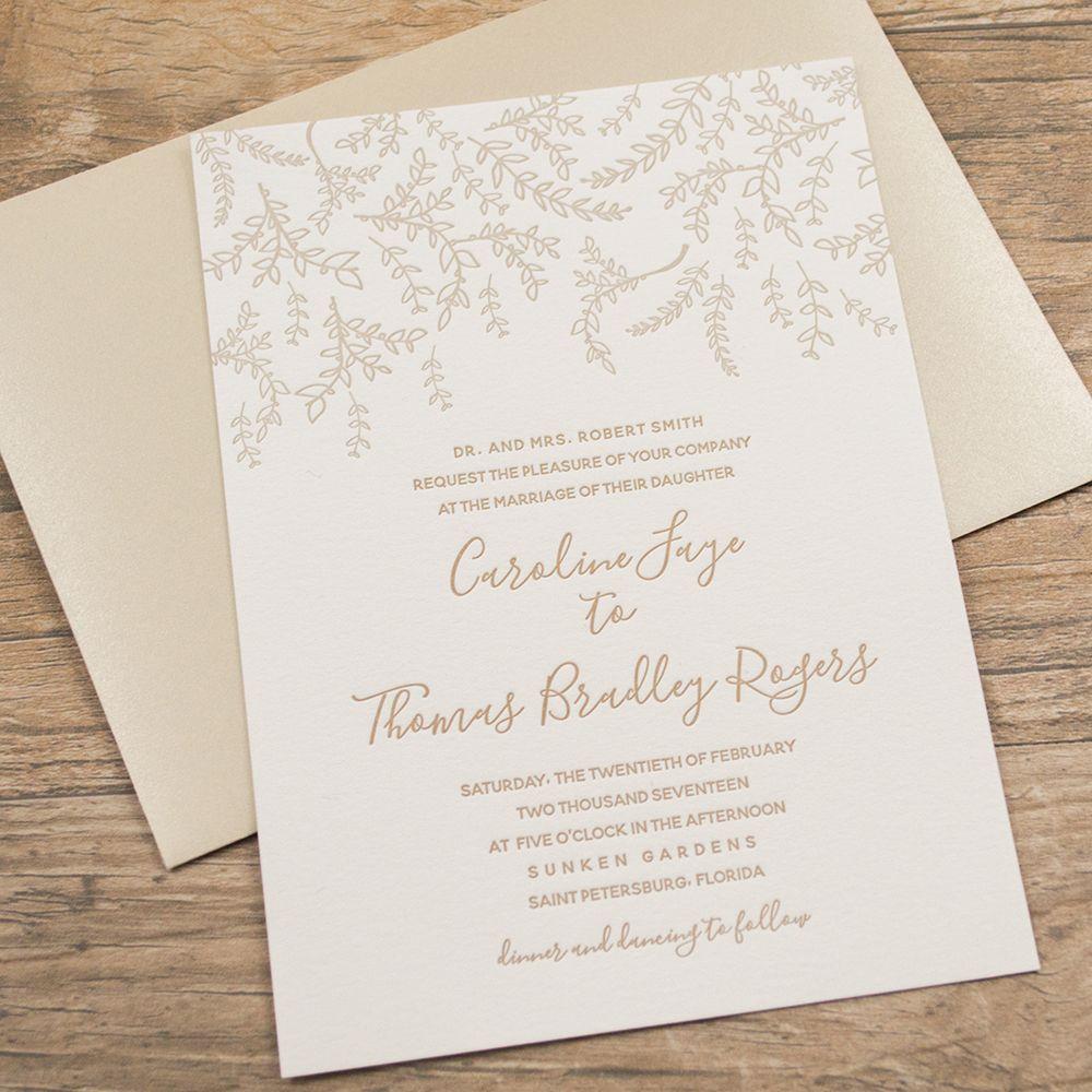 Garden Themed Wedding Invitations   Garden Wedding Inspiration ...