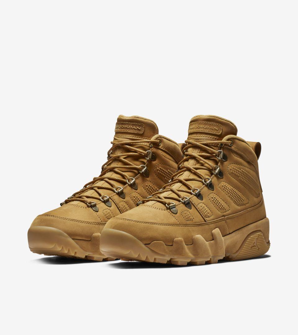 Air Jordan 9 Boot 'Wheat' Release Date