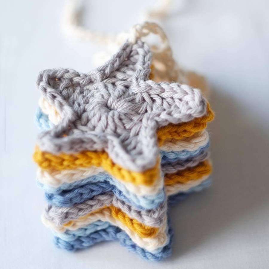 Image result for crochet star garland | custom | Pinterest | Crochet ...