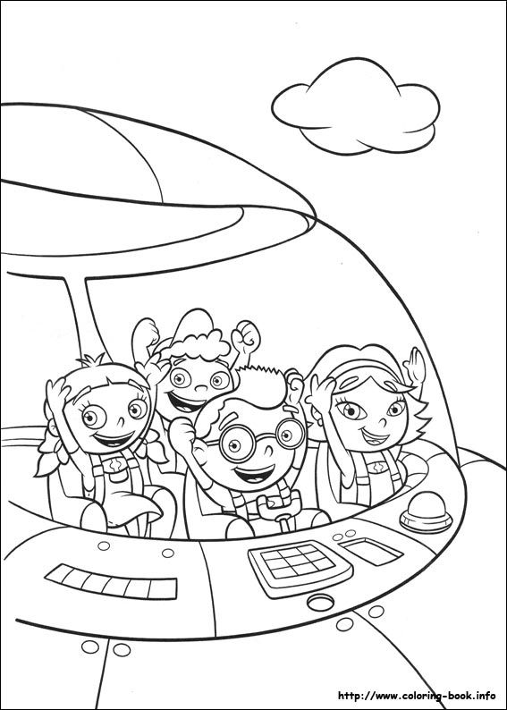 Little Einsteins coloring picture | Baby 2nd bday | Pinterest ...