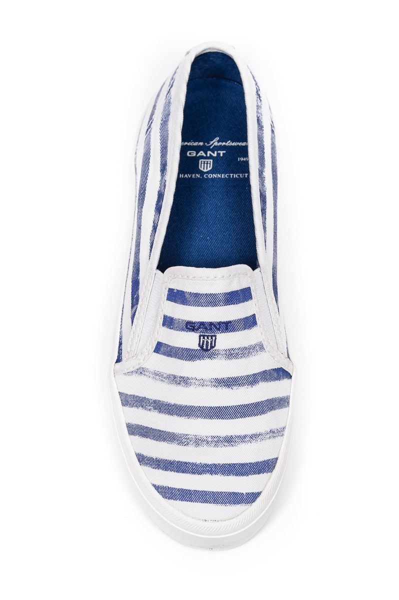 Sportowe Obuwie Ona Gant Gant Trampki Zoe 10578648 Twill G89 Faded Blue Stripes Buty Buty Damskie Buty Meskie Dzieciece O Gant Blue Stripes Fly London