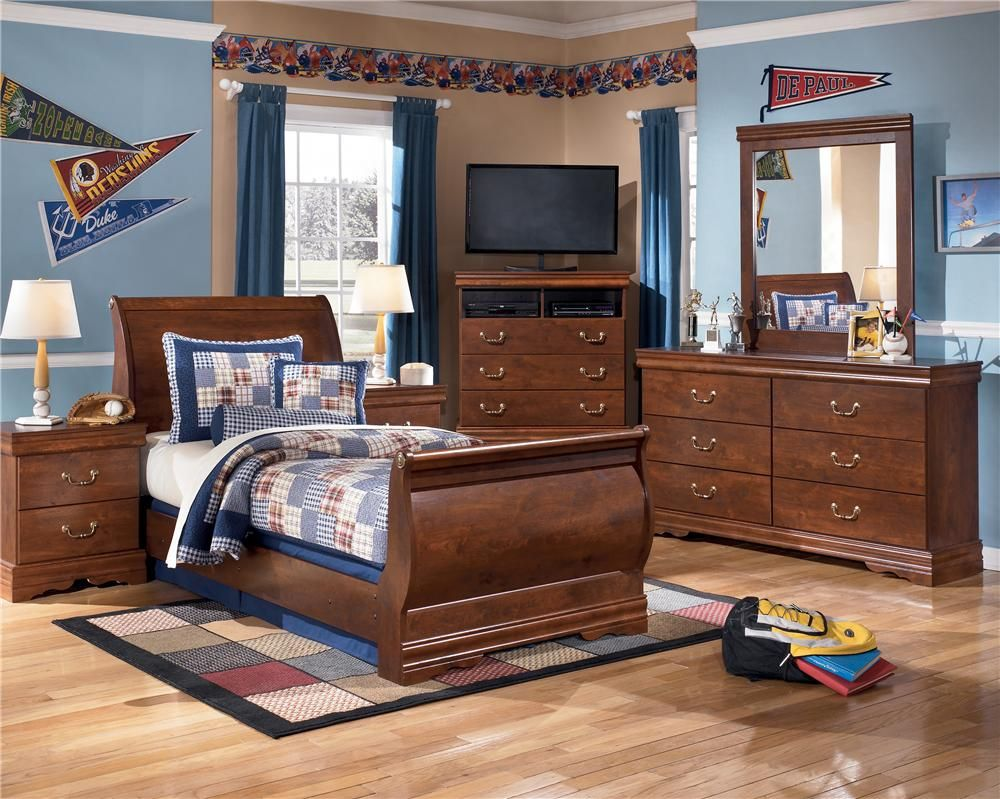ashley b178 31 36 62 63 82 twin sleigh bedroom set chicago