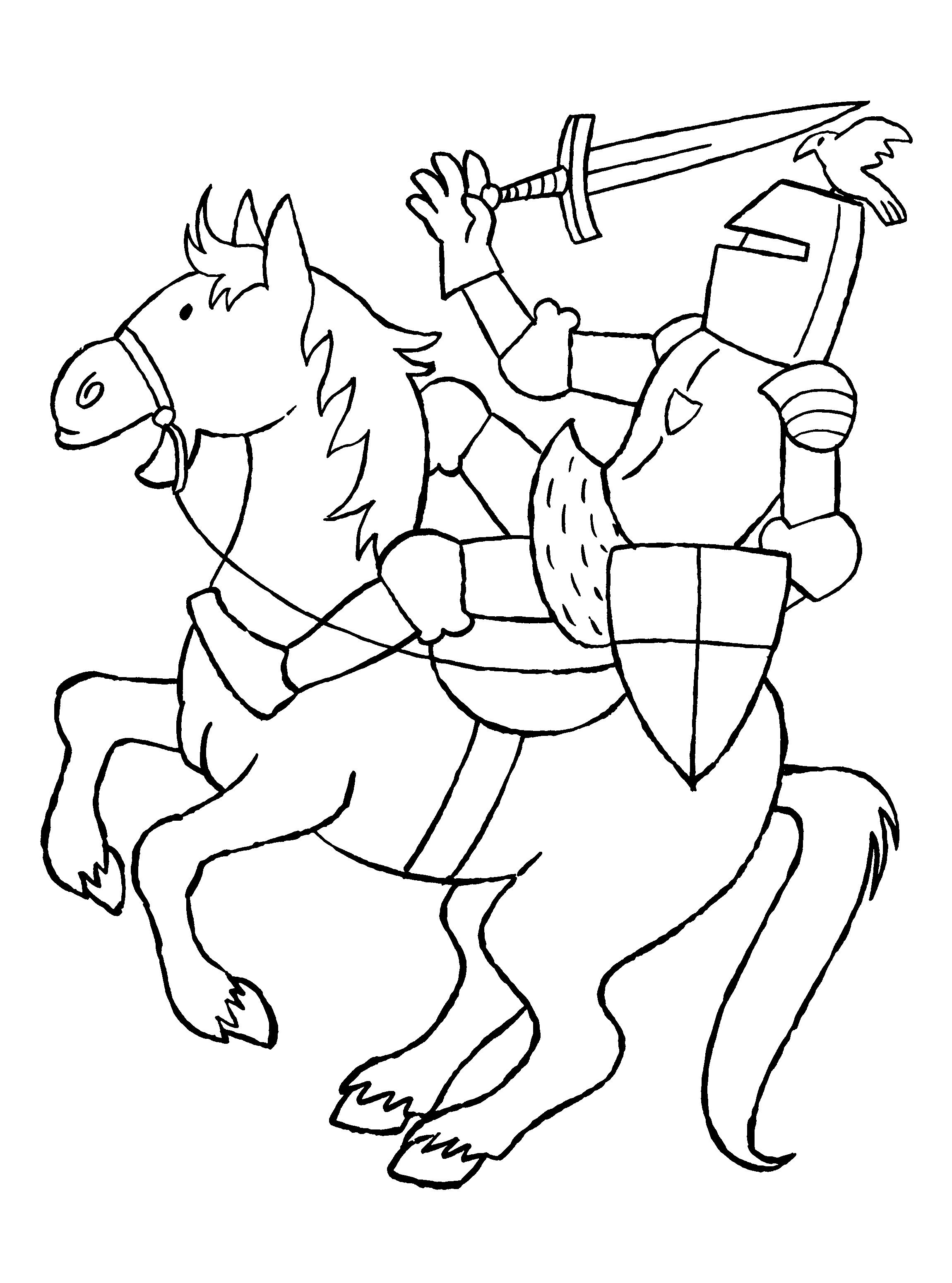Koning Middeleeuwen Kleurplaat Pin Van Hilde Herpelinck Op Ridders En Kastelen Op