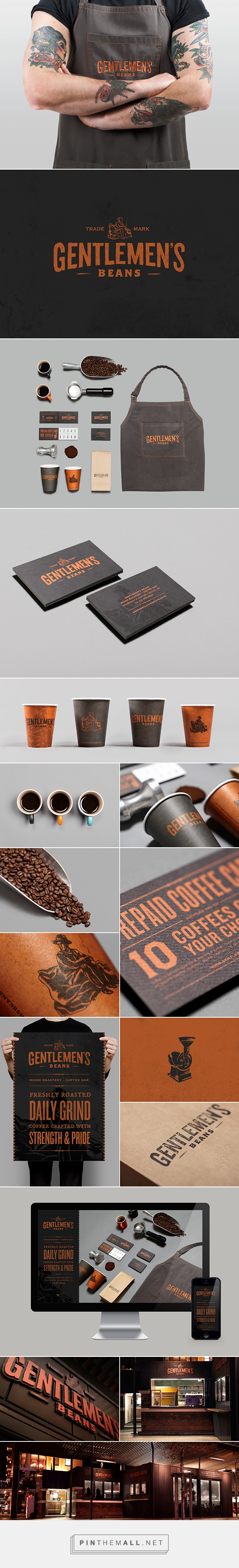 Gentlemens Beans on Behance... - a grouped images picture - Pin Them All