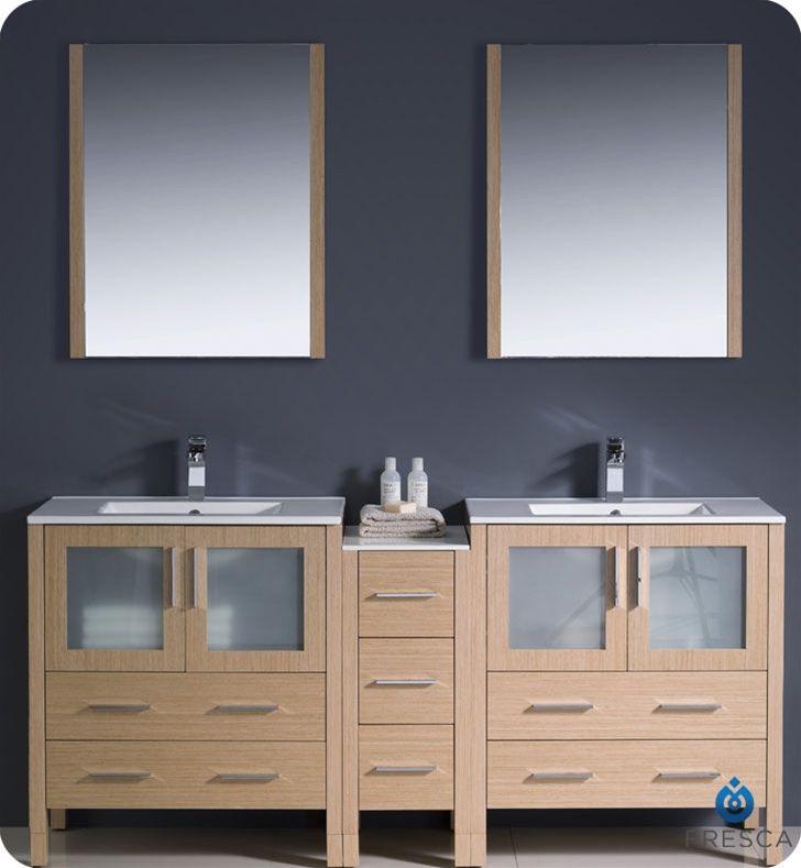 Double Sink Modern Bathroom