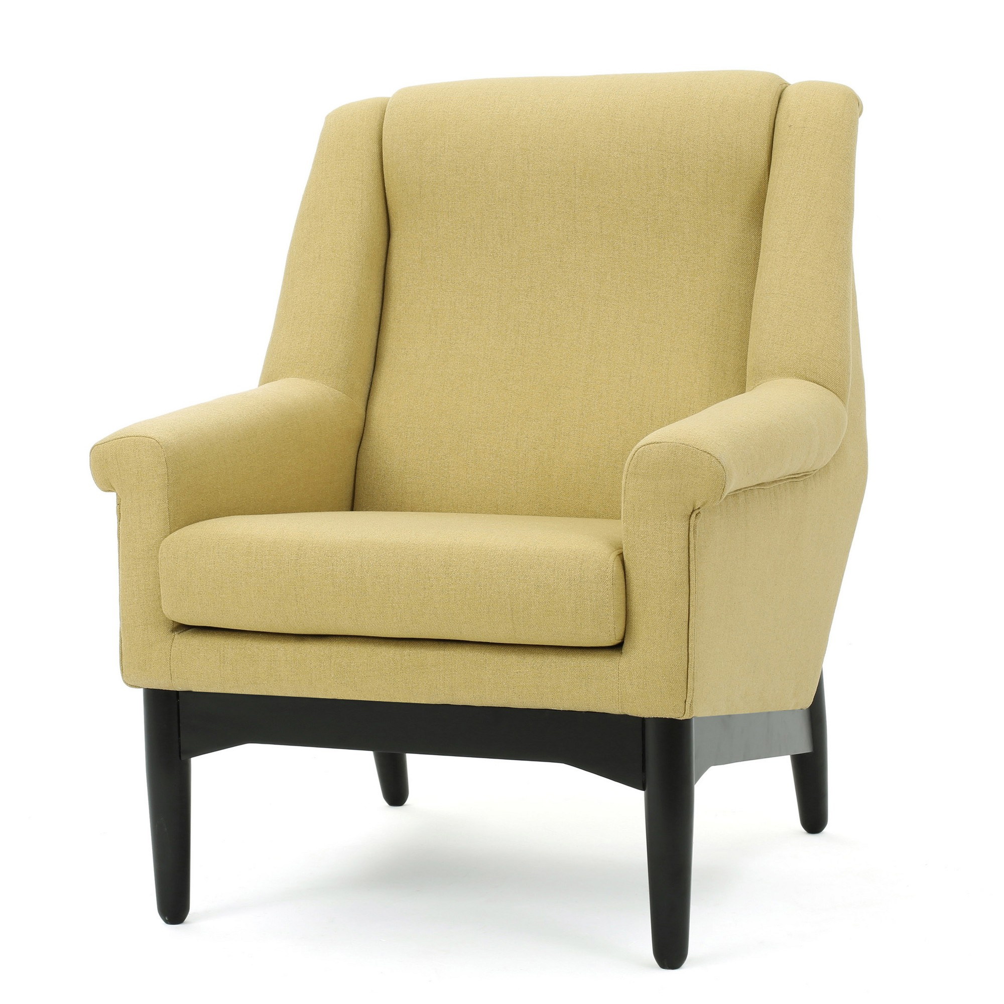 Monet Mid Century Club Chair Bright Green Christopher Knight Home
