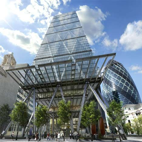 Richard Rogers on the Leadenhall building known as the Cheesegrater