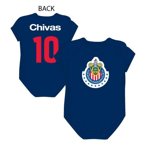 61f2af2e4 BABY Chivas Bodysuit with Logo   Number