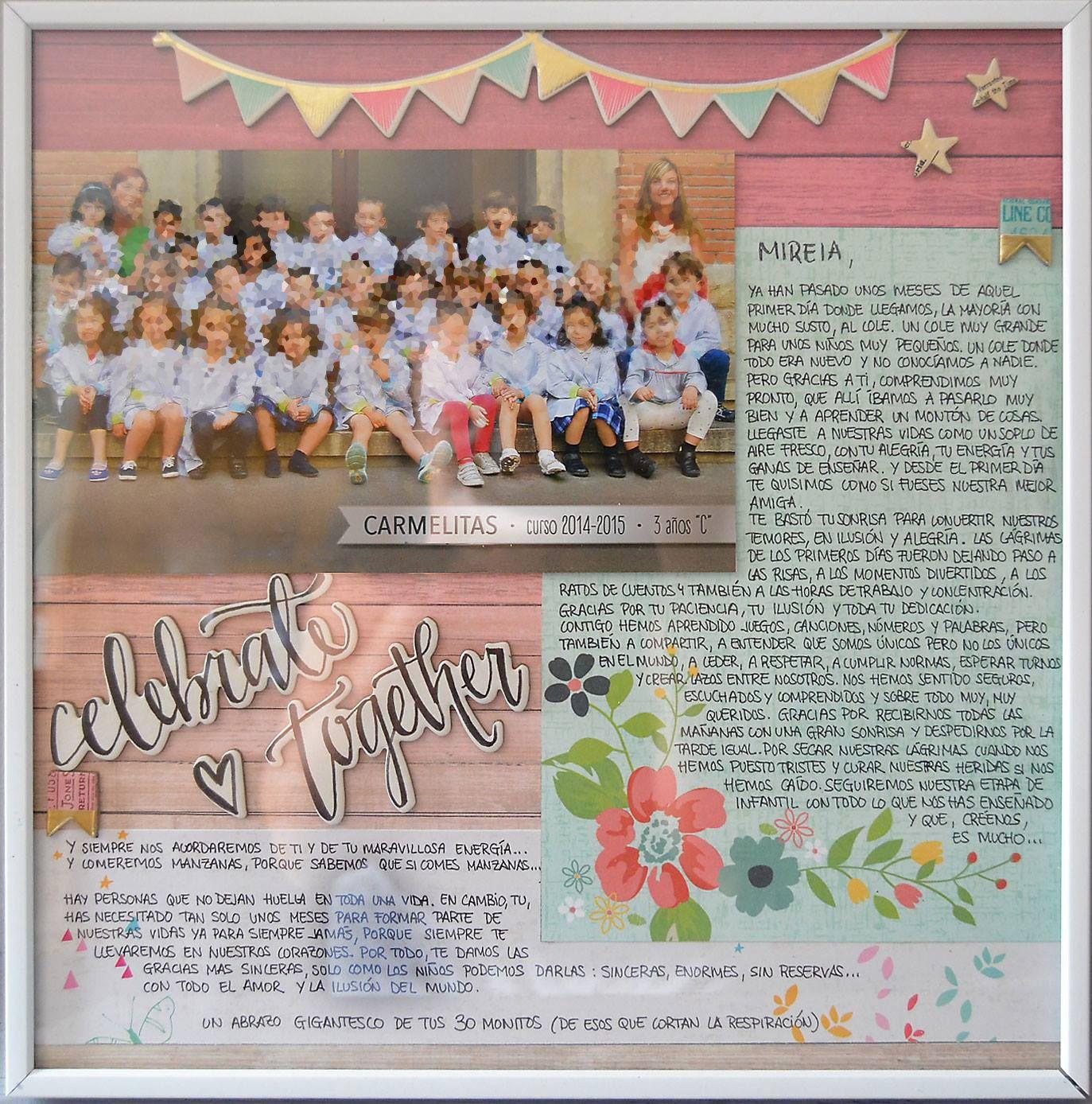 Cuadro regalo de agradecimiento a profesora y maestra de - Cuadros originales para bebes ...