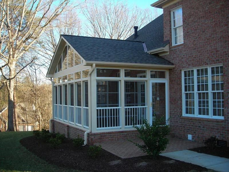 How to convert a screened porch into a four season room for 4 season porch
