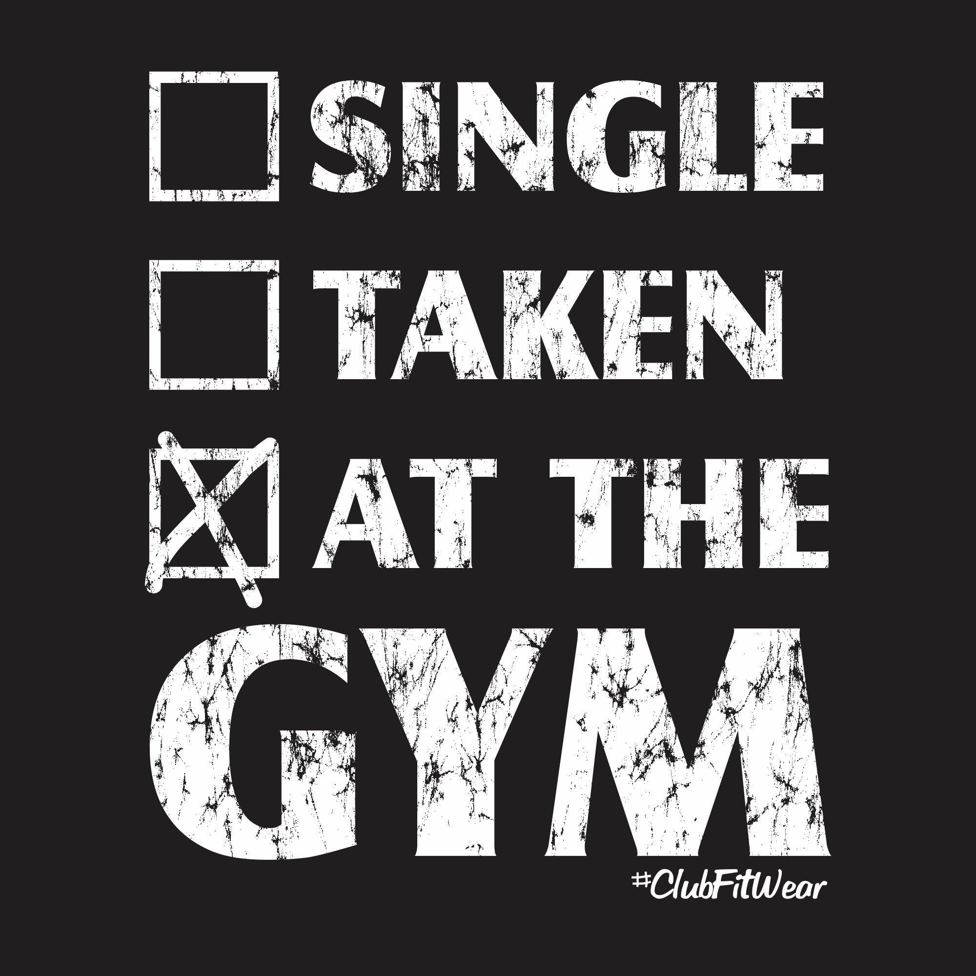 single taken at the gym)