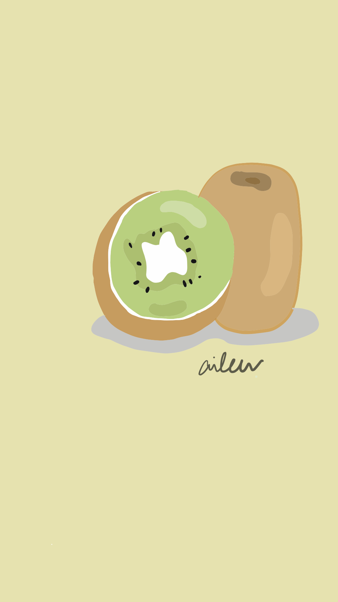 Kiwi Had dried kiwi and it tasted good