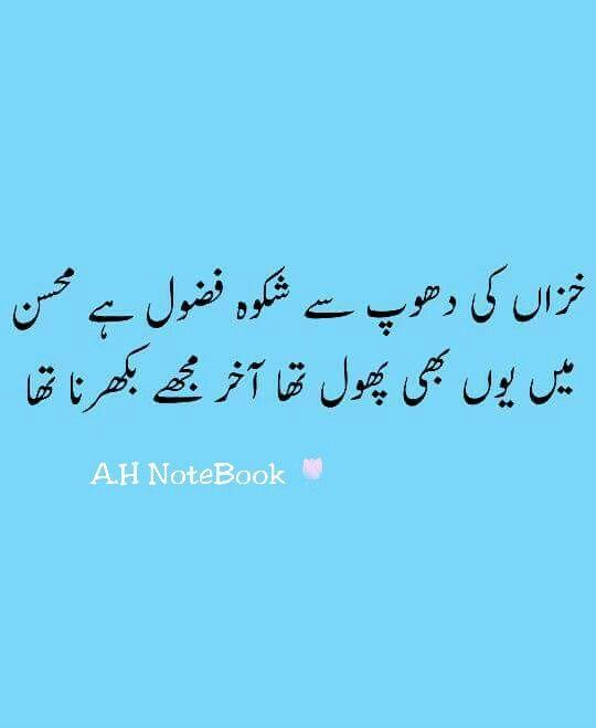 Shikwaa Fazool hai (*_*) A H | Urdu Poetry | Urdu poetry