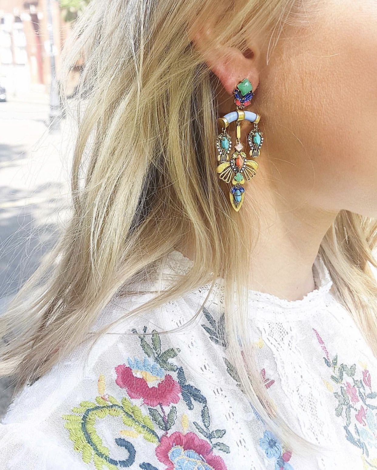 Colorful chandelier earrings stella dot sdlove sdstyle colorful chandelier earrings stella dot sdlove sdstyle jewelry arubaitofo Images