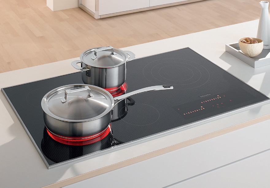 Miele 95cm Induction Cooktop KM6388 in 2020 (With images