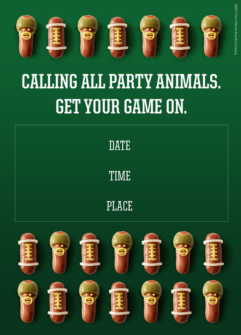 Calling all Party Animals! Get your game on. Click here to