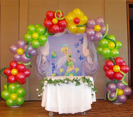 Small Balloon Arch We have created a buzz in the town when we