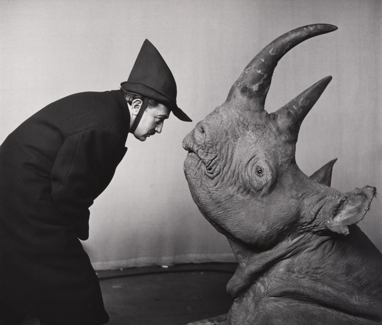 Salvador Dalí on CBS <i>The Morning Show,</i> 1956.