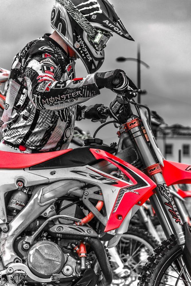 Ready to Roll by Damian Walker on 500px Motorcross bike