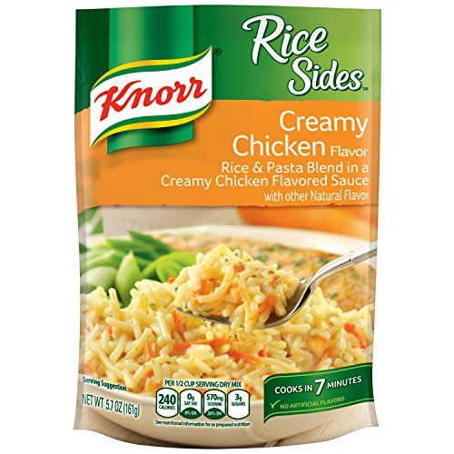 Knorr Rice Sides Rice Side Dish Creamy Chicken 57 oz ** You can find more details by visiting the image link. (Note:Amazon affiliate link) #BestSellerBelow1