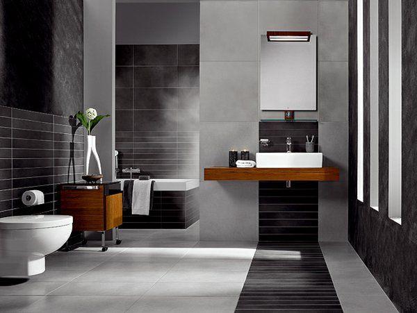 Mod le salle de bain moderne quelques id es fascinantes et promettantes - Salle de bain modele ...