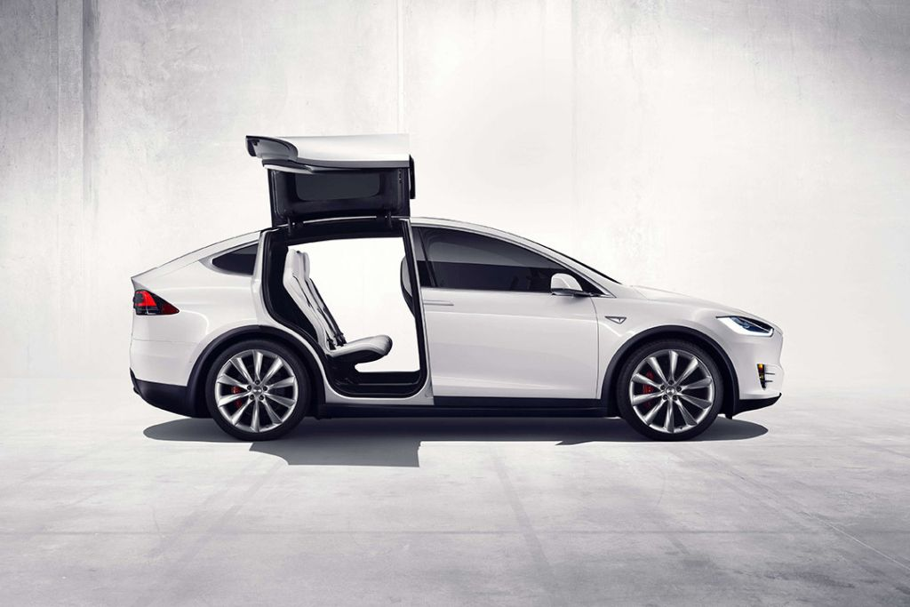 a first look at the tesla model x suv cars futuristic cars and rh pinterest com