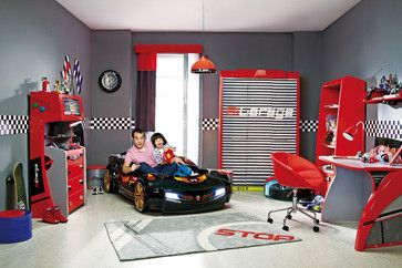Car Bed Kids Bedroom Dream Room Modern Kids Car Themed