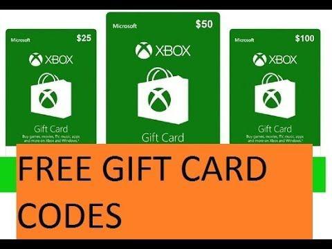 microsoft free codes for xbox