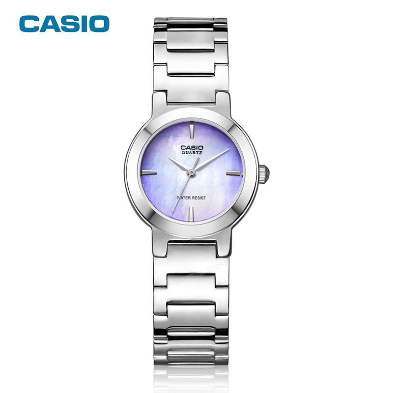CASIO Часы Стиль  лето 2016 г. золотые часы марки часы Для женщин наручные  женские 3715f335c9c