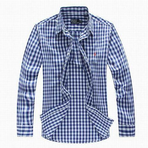 7a03a16c0208 Ralph Lauren Men s Plaid Shirts   Ralph Lauren polo Mens Custom Fit Pony  Plaid Shirt Blue  polo mens .