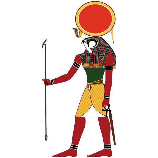 エジプト神話 第4話『 太陽神ラー 』 | エジプト, エジプト神, 古代 ...