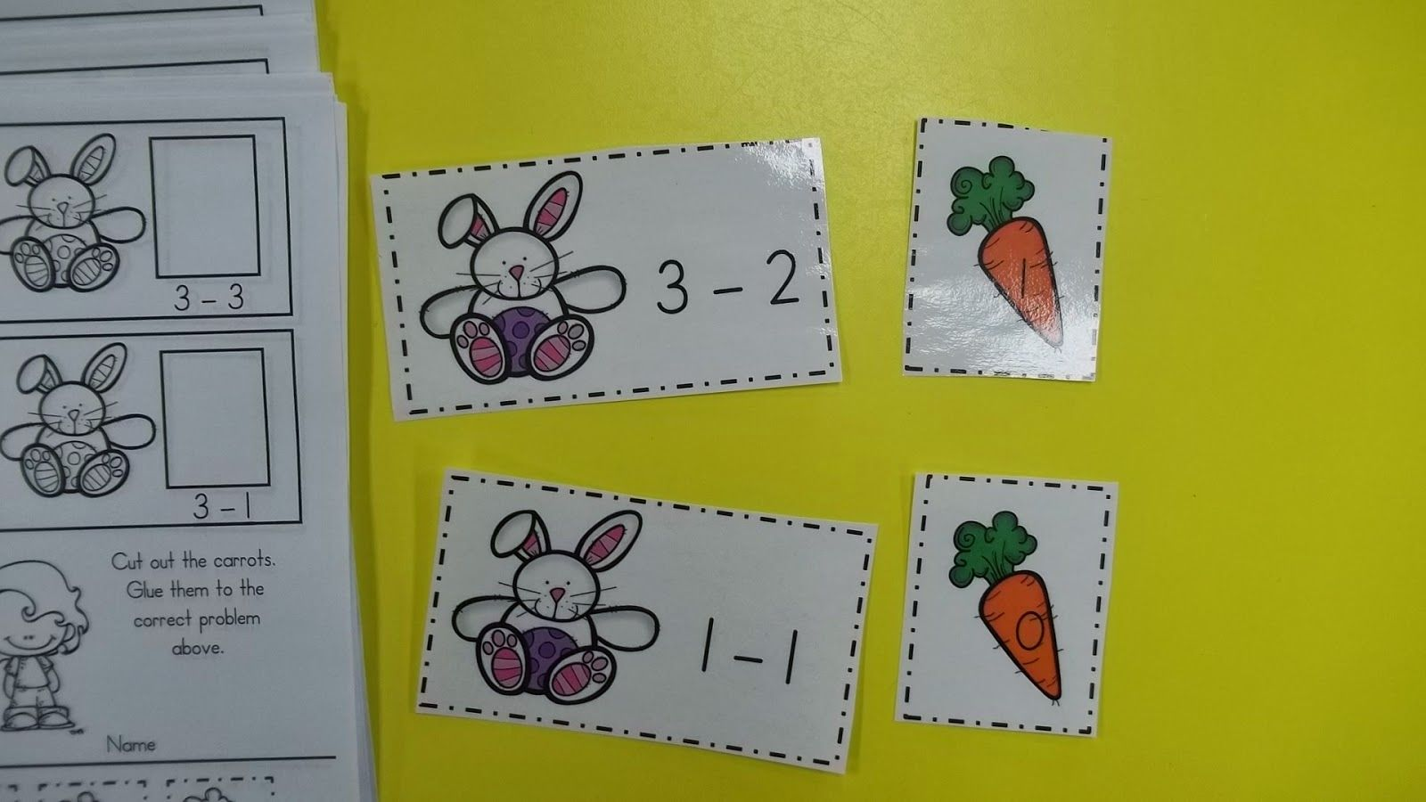 Easter Math Amp Literacy Centers