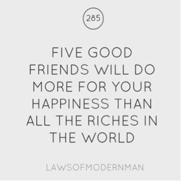 Five good friends! | Inspiration for Drug Free Living from Be