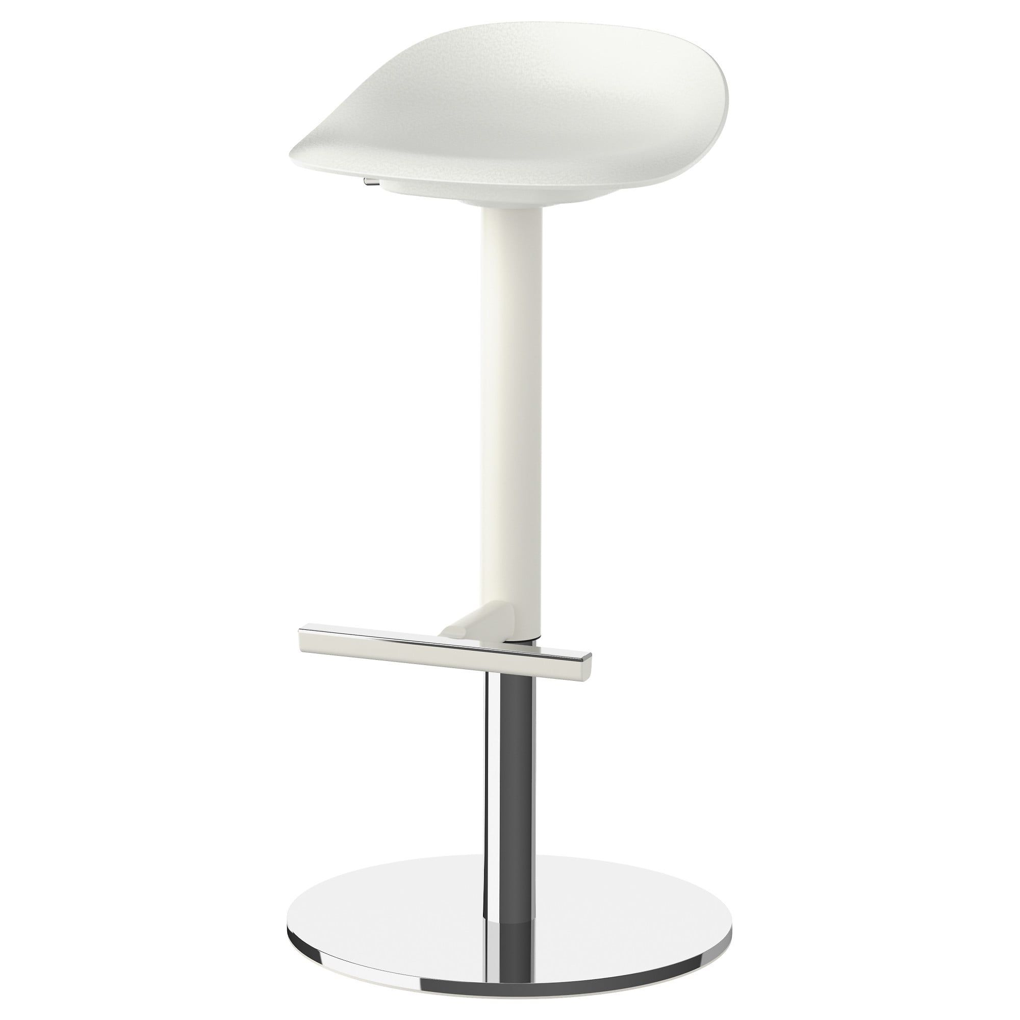 Ikea Janinge Bar Stool White Bar Stools Ikea Barstools Stool