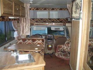 1982 Class C Fleetwood Jamboree Restoration Inside Interior