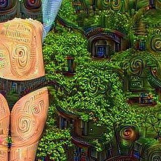 #deepdream #neuralprocessing # by robotpainter