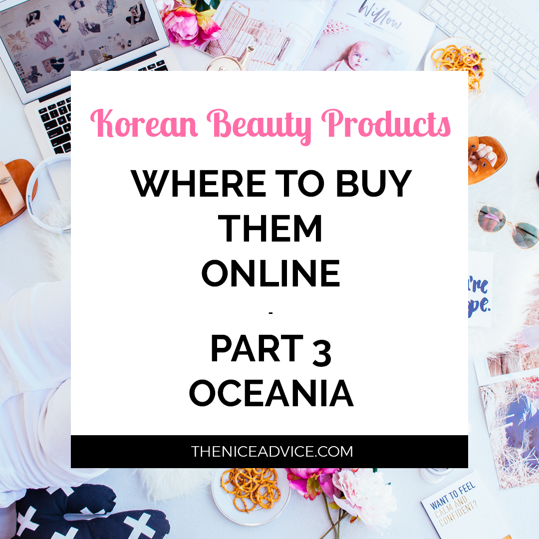 In we already saw where you can buy Korean beauty products