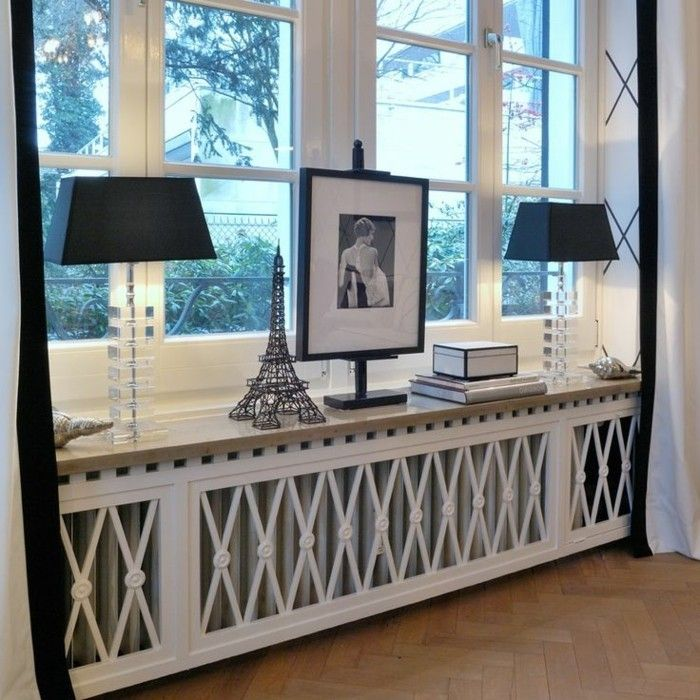 comment habiller un radiateur 69 photos avec exemples d coration int rieure. Black Bedroom Furniture Sets. Home Design Ideas