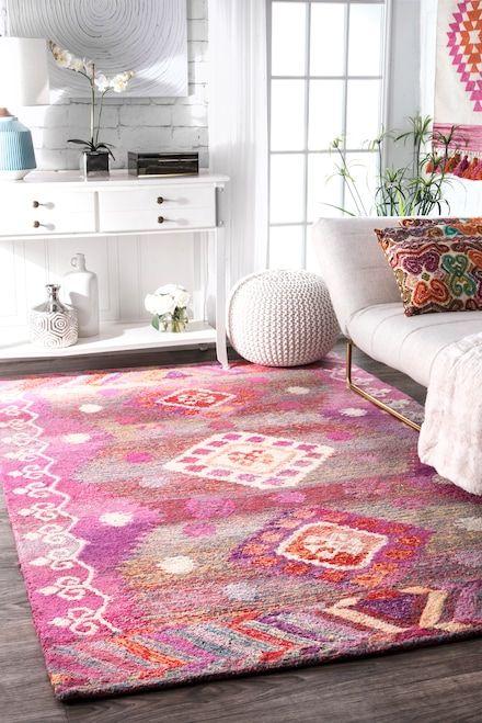 Tribal Diamond Centerpiece Rug | Ideas for the House | Pinterest ...