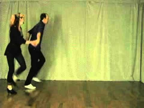 """Advanced Charleston Transitions Routine"" - Partner Charleston Dance Lesson by Kevin St. Laurent & J"