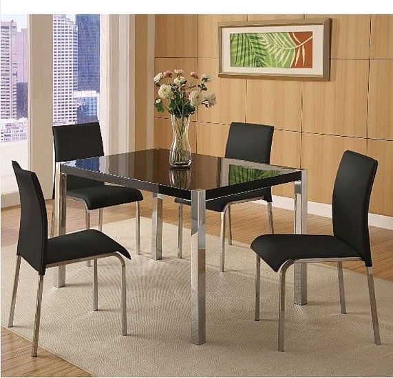 Charisma Rectangular Dining Set With Four Chairs Dining Table