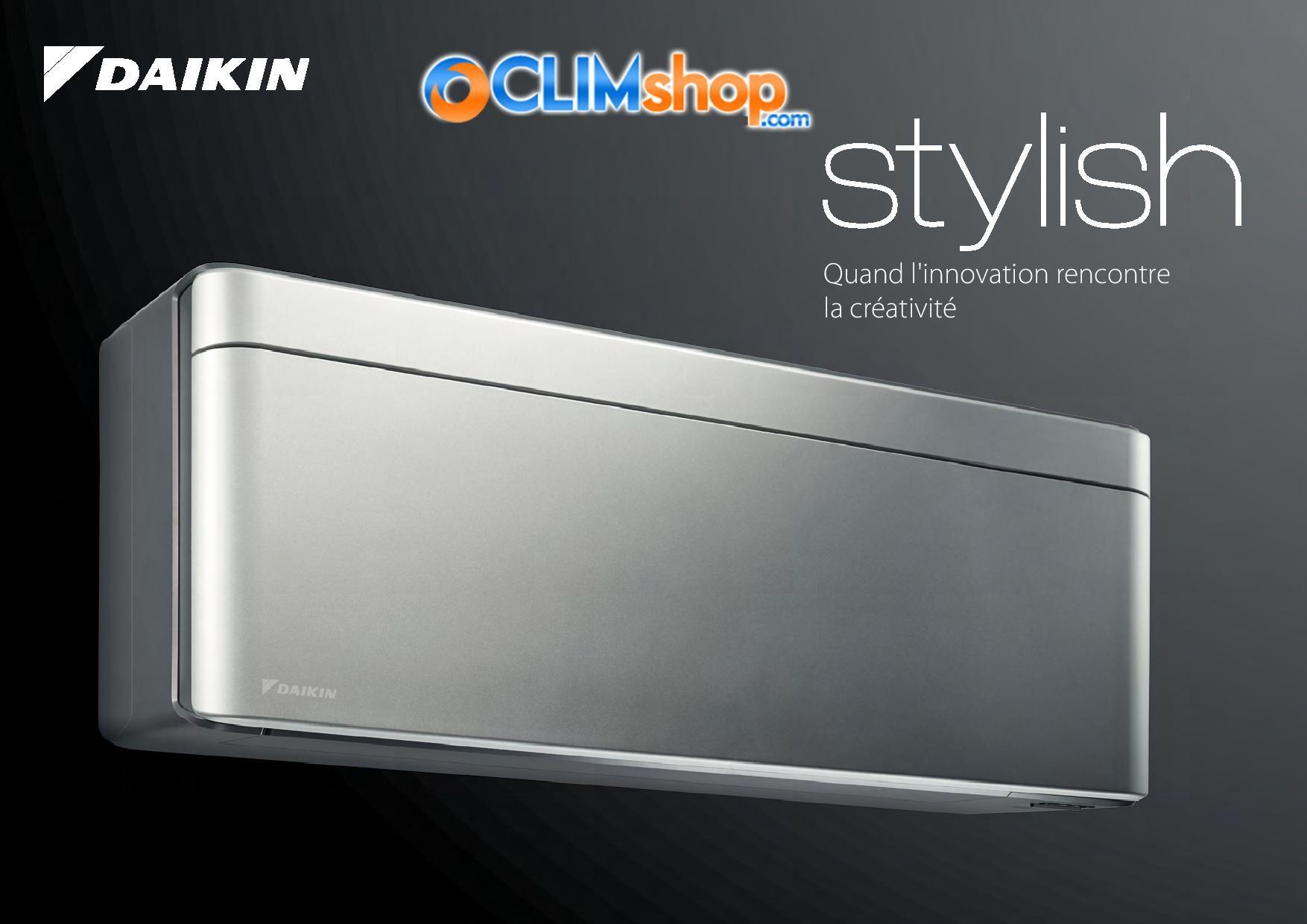 Documentation Climatiseur Daikin Stylish R32 Bluevolution Climatiseur Climatisation Innovation