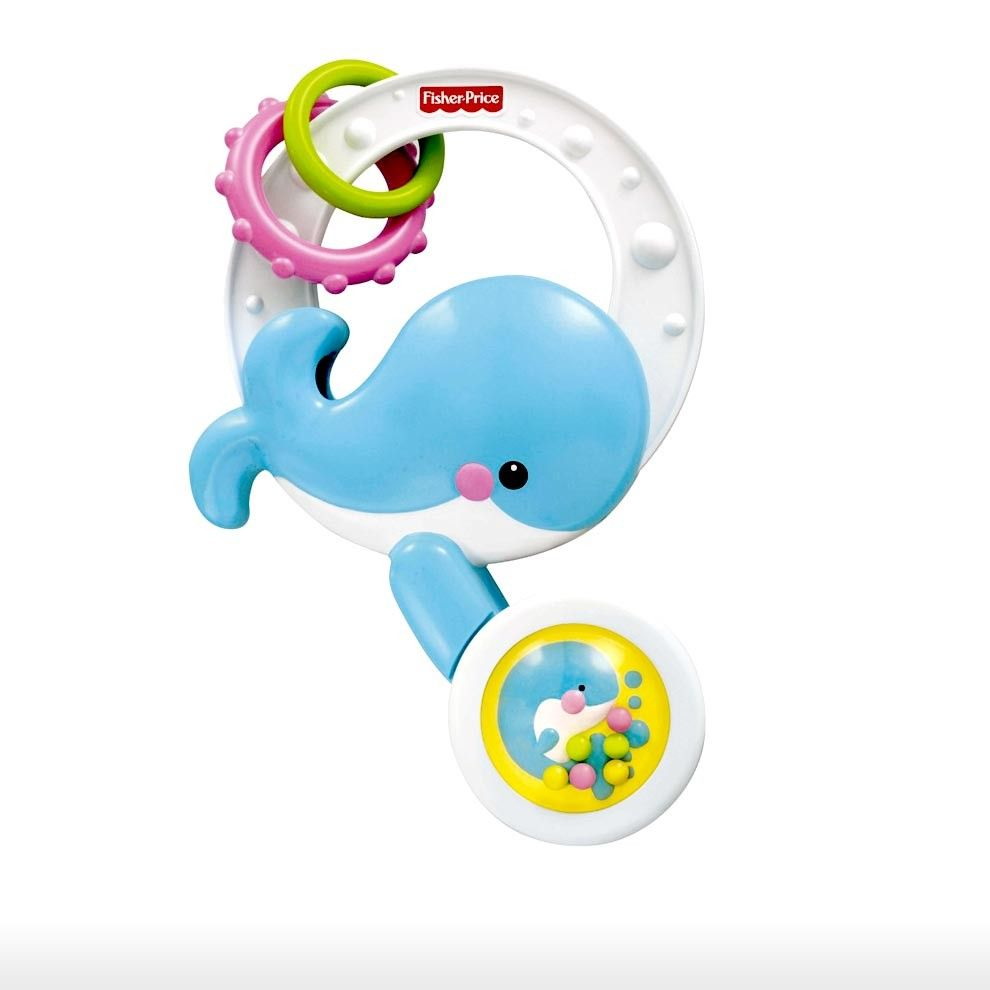 Fisher Price Toys > 6m-24m > Spill and Spin Whale Rattle | Shop ...